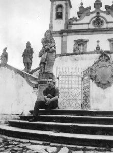 Alberto de Lacerda, Ouro Preto, Brazil, December 1959