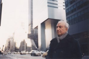 Alberto de Lacerda, New York, 1994, photograph by Scott Laughlin