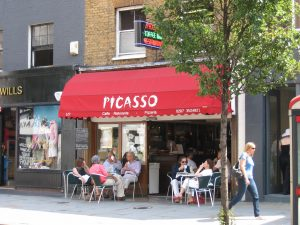 Picasso Cafe, Chelsea, 2007
