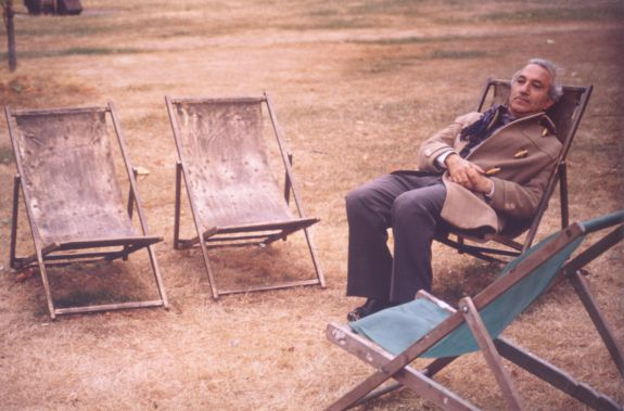 Alberto de Lacerda, Portuguese Poet, Green Park, London, 1970s