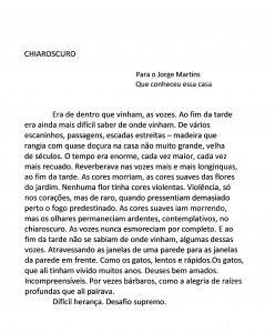 Chiaroscuro (Portuguese)
