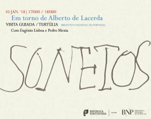 "Invitation for National Library ""Oh, Vida, sê bela!"" closing event"