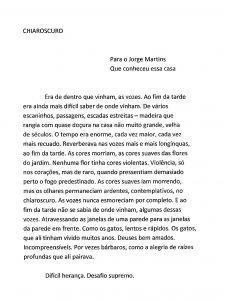 Chiaroscuro in Portuguese