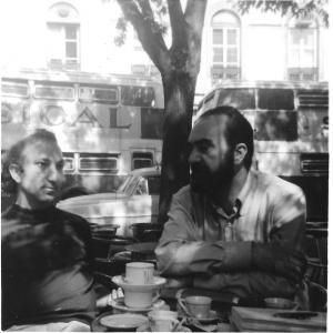 With Alberto Helder, Lisbon, 1967