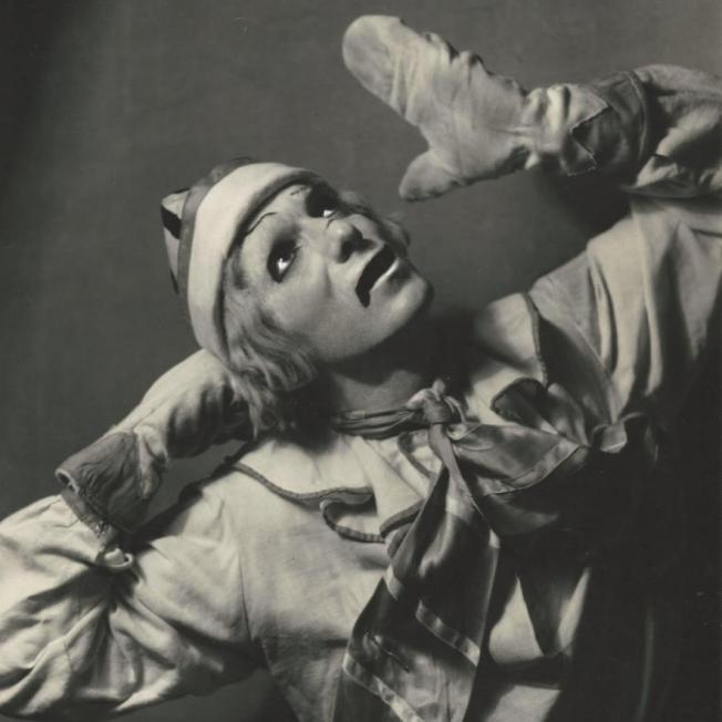 "Léonide Massine in ""Petrouchka"""