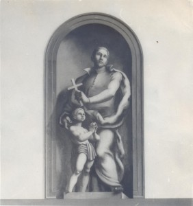 Edgar Ritchard, mural painting in the Brompton Oratory