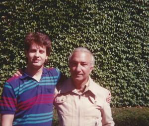 With Renato Rezende, Boston