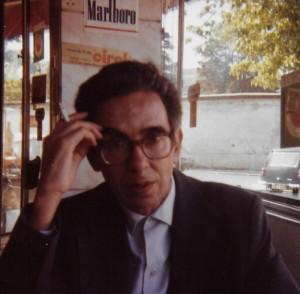 António Ramos Rosa, Lisbon, 1981