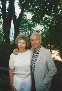 With Kathleen Aguero, Boston