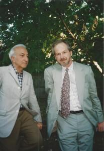 With Richard Hoffman, Boston
