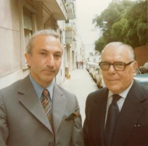With João Gaspar Simões, Lisbon, c. 1978