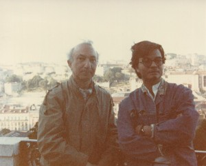 With Eduardo Pitta, Portugal