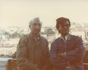 With Eduardo Pitta, Portugal