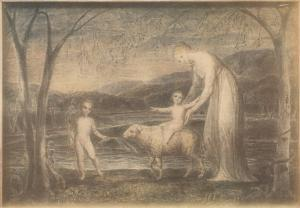 William Blake (UK, 1757-1827) Manner of William Blake