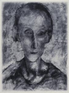 Pavel Tchelitchew (Russia, 1898-1957) Portrait of Edith Sitwell, c. 1927