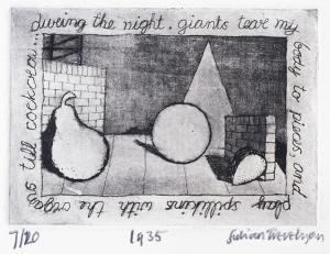 Julian Trevelyan (UK, 1910-1988) During the Night, 1935