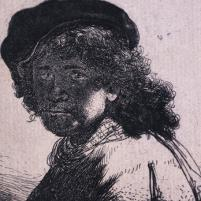 Rembrandt (Holland, 1606-1669) Self portrait, 1633