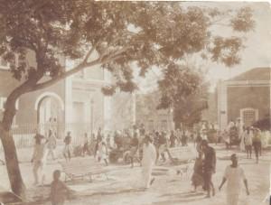 Island of Mozambique, street scene, c. 1920