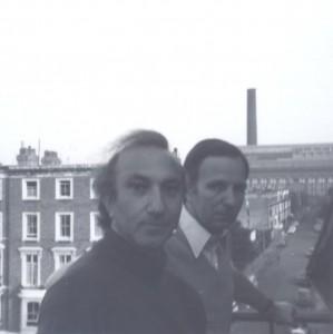 With Samuel Lock, Chelsea