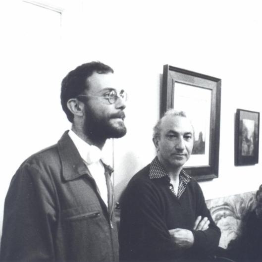 With Mário Botas, Lisbon, c. 1980