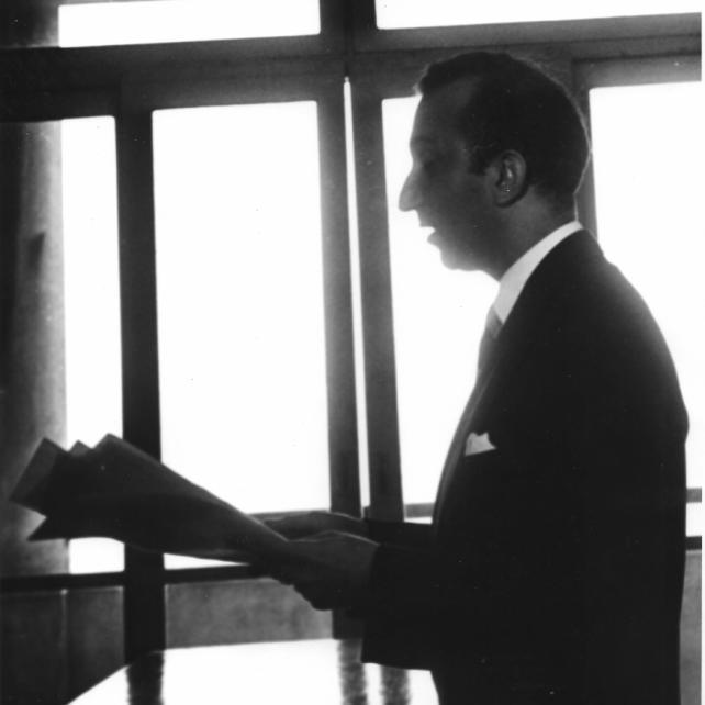 Alberto de Lacerda, Rio de Janeiro, 1959