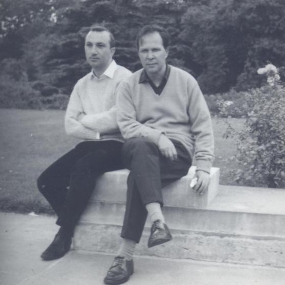 With Eugénio de Andrade, London, 1967