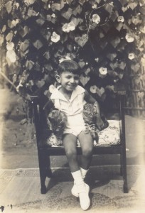 Alberto as a child, Mandimba, Mozambique, 1932