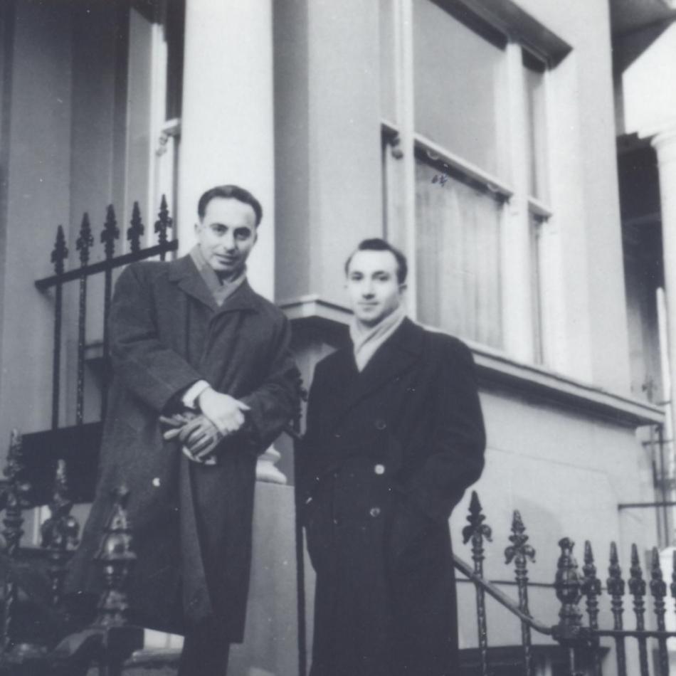 With Vitor Matos e Sá, London