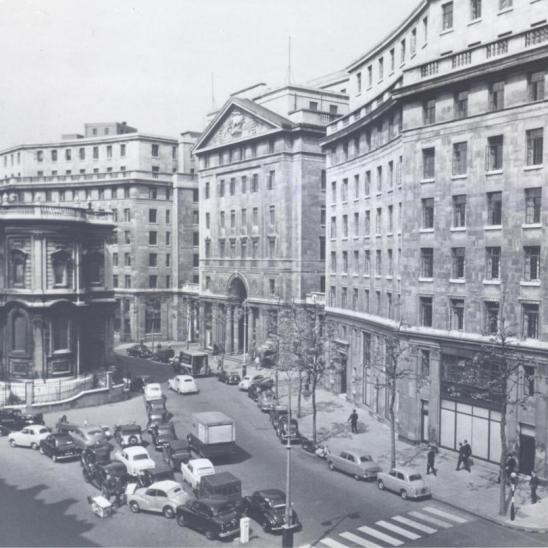 Bush House, Strand, Headquarters of the BBC External Services