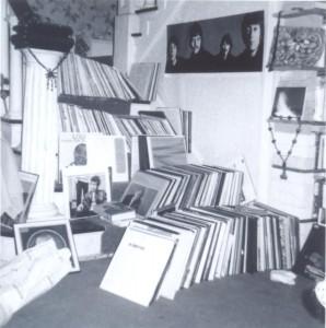 Interior, Alberto de Lacerda's home, Austin