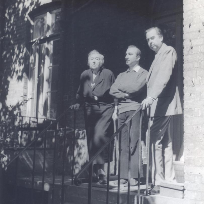 With Mrs Hope-Nicholson and her son Felix, 52 Tite Street