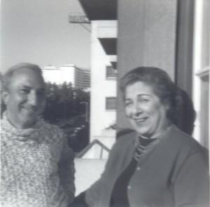 With Maria da Graça Amado da Cunha, Portugal