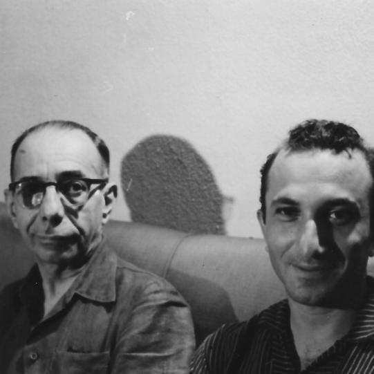 With Rodrigo Melo Franco de Andrade, Rio de Janeiro, 1959