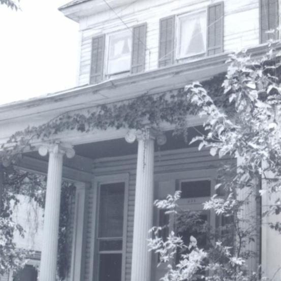 Alberto de Lacerda's house in Austin