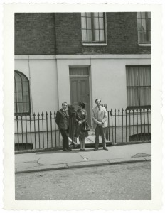 With Paula Rego and Victor Willing, London, c. 1964