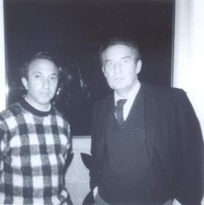 With Octavio Paz, Cambridge, Massachusetts, 1972