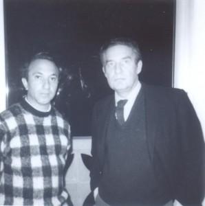 With Octavio Paz, Cambridge, Massachusetts, 1972