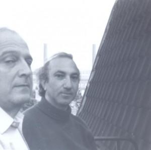 With Adrien de Menasce, Chelsea