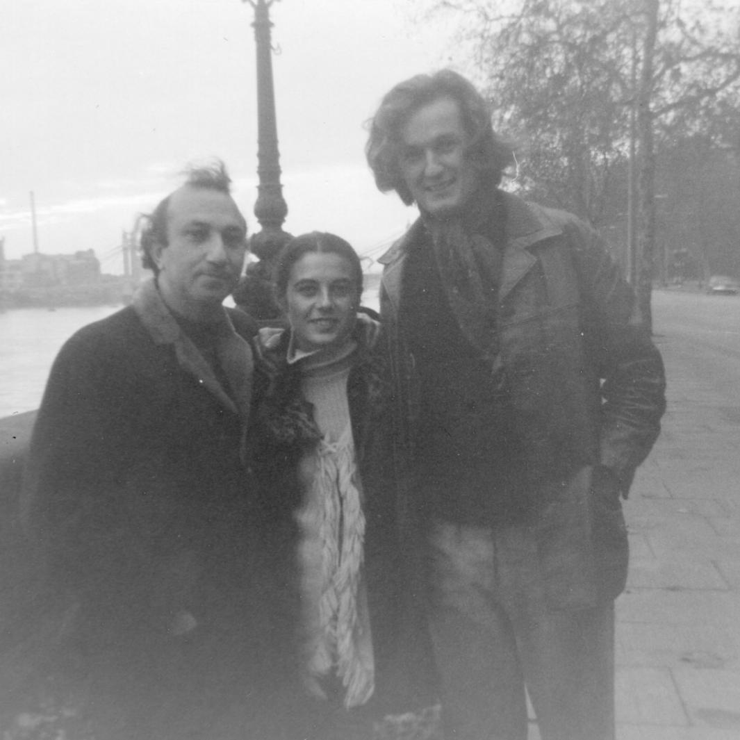 With Anne-Marie Albiach and Claude Royet-Journoud, London