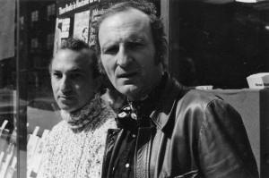 With Nathaniel Tarn, Cambridge, Massachusetts, 1972