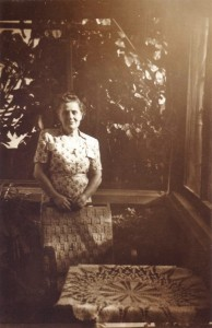 Leopoldina Correia de Lacerda, Alberto's Mother, Mozambique, c. 1949