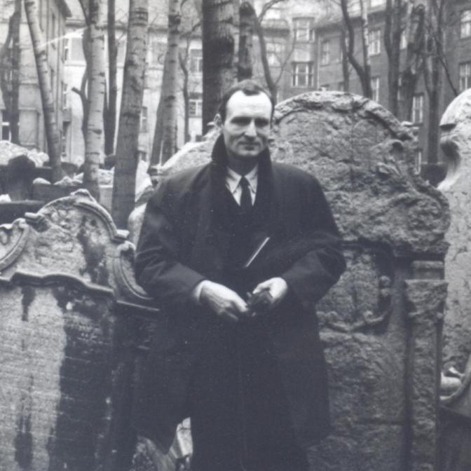 Nathaniel Tarn, Prague, 1965
