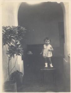 Carlos Alberto Portugal Correia de Lacerda as a child, Mozambique, c. 1930