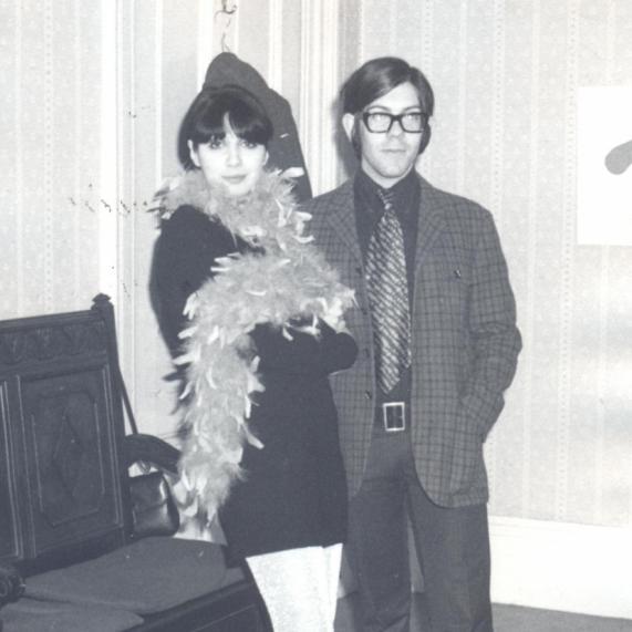 Lourdes Martins and Jasmim de Matos, London, late 1960s