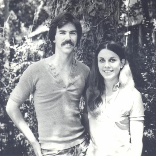 Tom Flory and Rae Dell, Austin, c. 1969