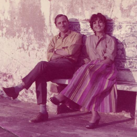 Victor Willing and Paula Rego, Ericeira, 1965