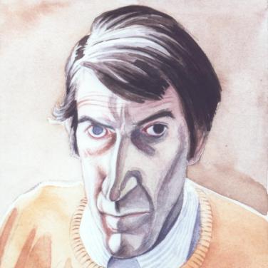 Self portrait of Rory McEwen