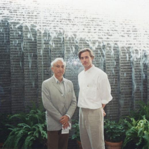 With Scott Laughlin, National Gallery of Art, Washington DC, 1994
