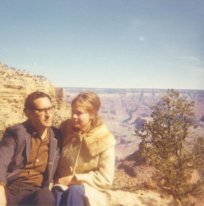 José and Elizabeth Sanchez, Grand Canyon, c. 1970