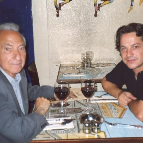 With Fernando Alves, London, 2005